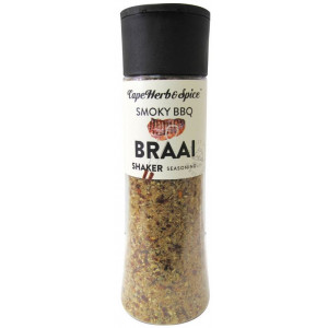 Специя для гриля Smoky BBQ BRAAI в шейкере Cape Herb & Spice Арт.S04