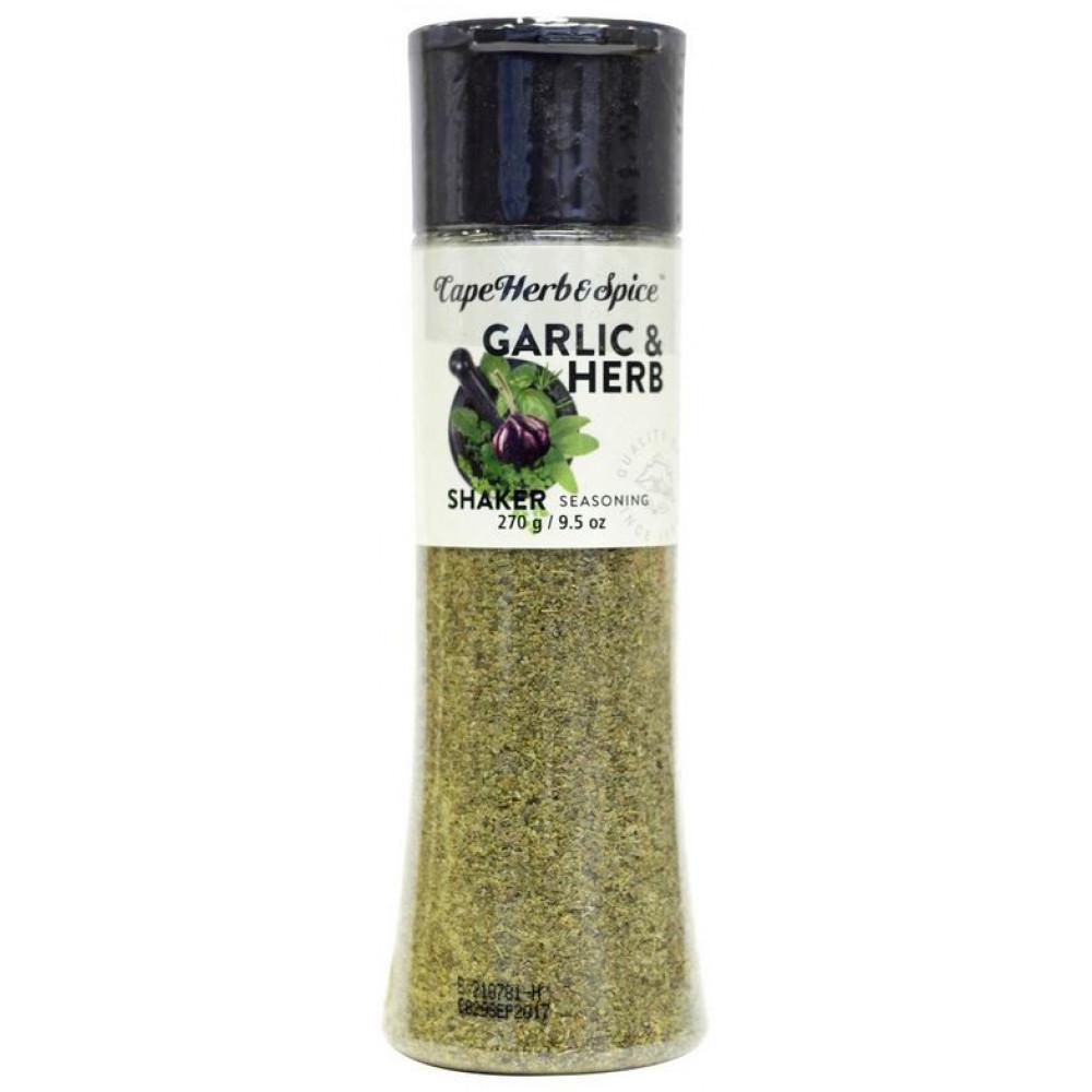 Приправа с чесноком и зеленью в шейкере Garlic & Herb Cape Herb & Spice Арт.S06