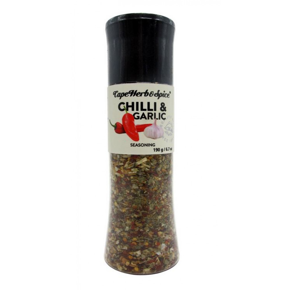 Смесь для гриля Chilli & Garlic мельница Cape Herb & Spice Арт.G07