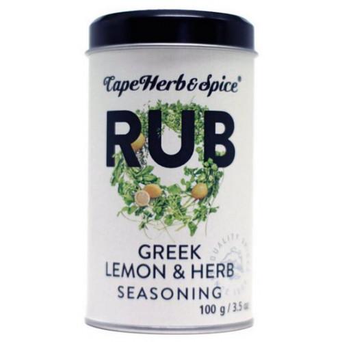 Приправа «Греческий Лимон» Greek Lemon & Herb Cape Herb & Spice Арт.R15