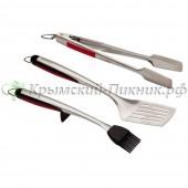 Набор инструментов 3 шт (лопатка+щипцы+кисть) Char-Broil. Арт.4867709