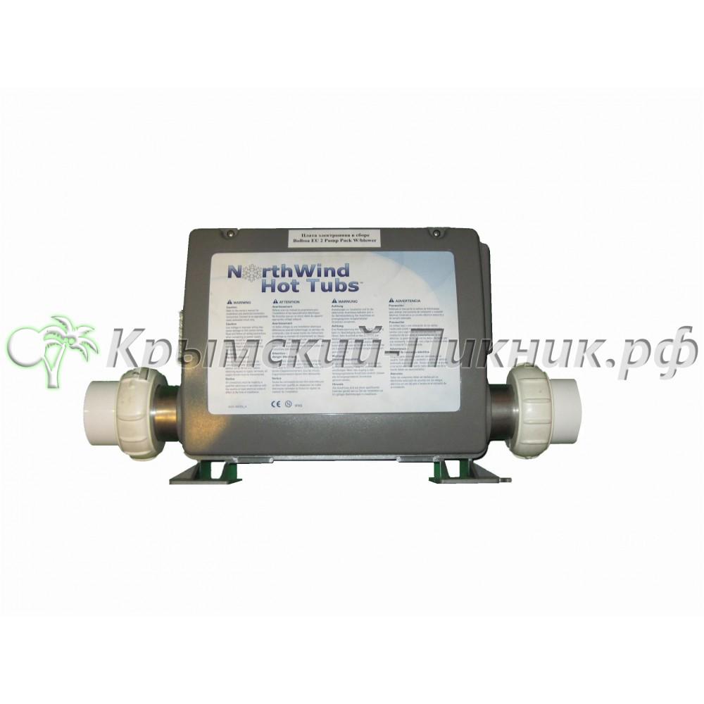 Плата электронная в сборе  Balboa EU 2 pump pack w/blower (55410)