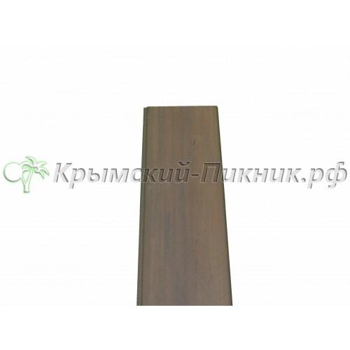 Планка боковой отделки  Mahogany cladding vinyl l=130mm h=1420mm
