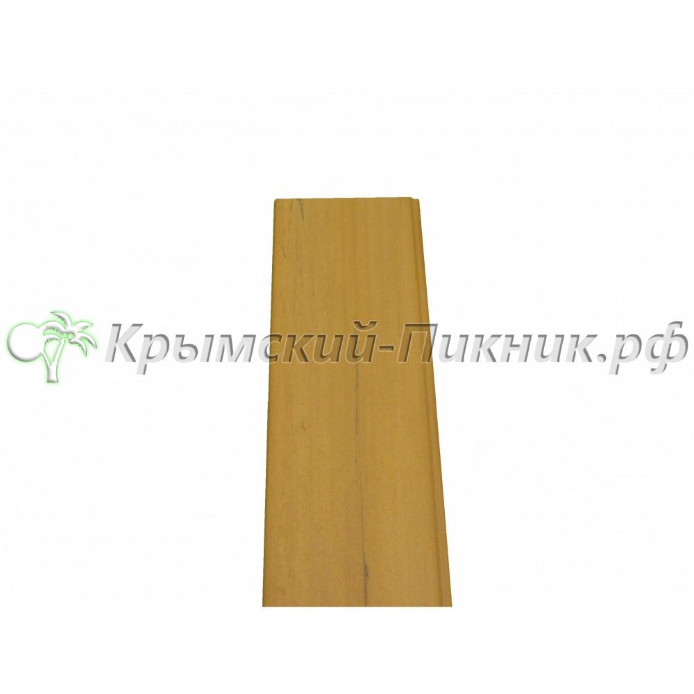 Планка боковой отделки  Red cladding vinyl l=130mm h=1420mm