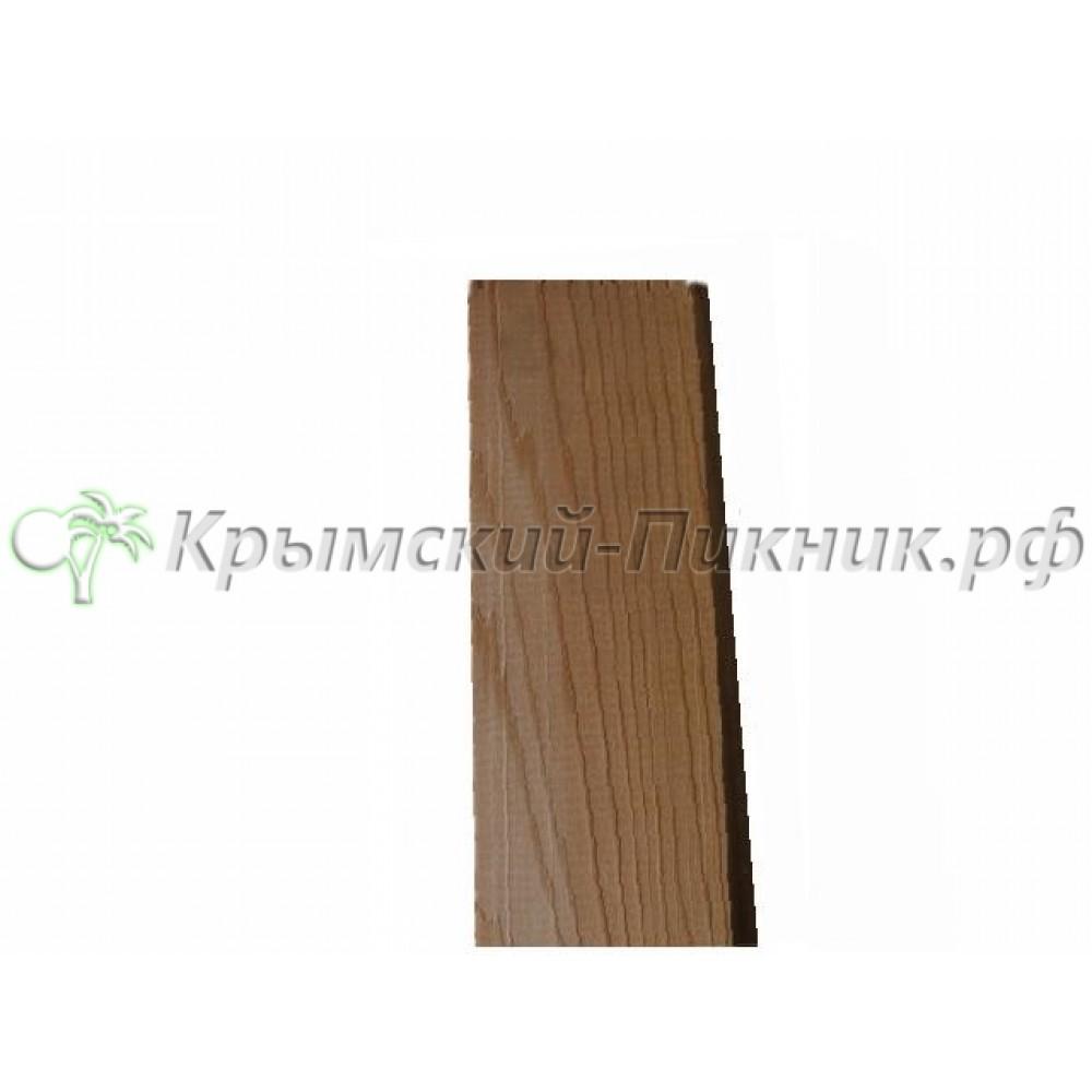 Планка угловой отделки кедр  h=760mm l=60mm