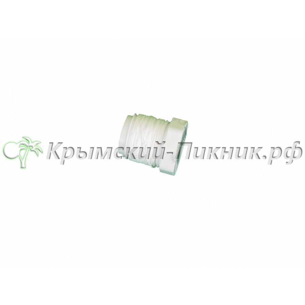 Пробка слива белая пластиковая  Drain plug