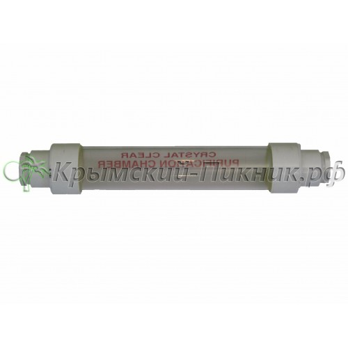 Индикатор чистоты  crystal clear tube l=335mm, d=55mm