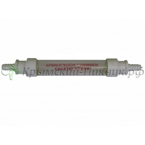 Индикатор чистоты  crystal clear tube l=415mm , d=55mm