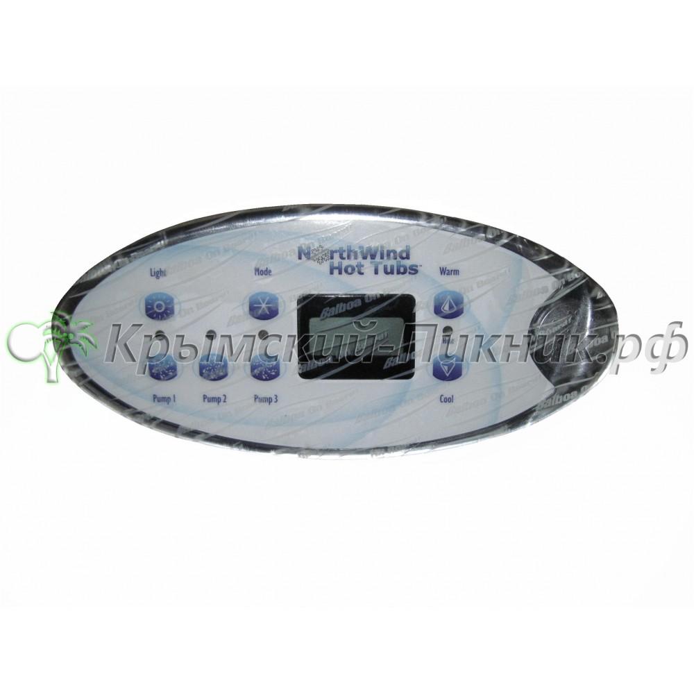 Пульт встраиваемый  Balboa TSC 3pump (54539)