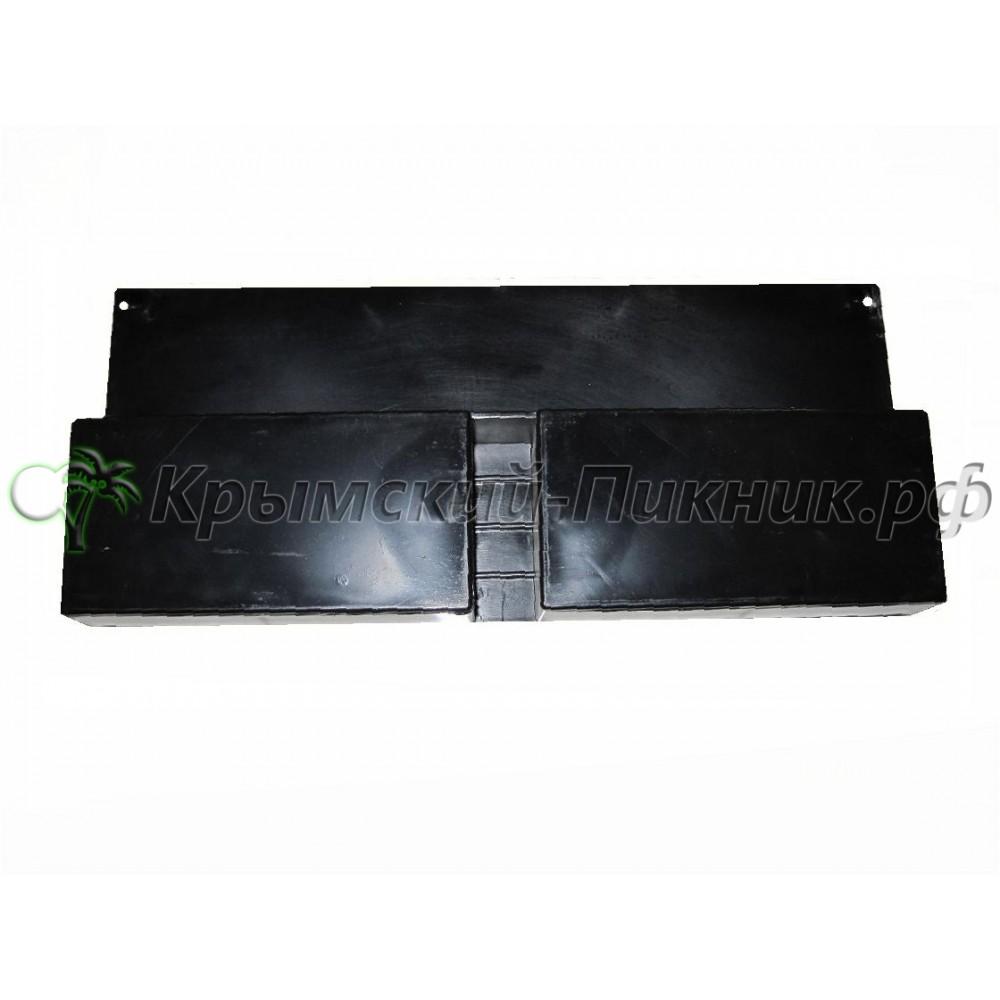 Успокоитель чёрный  l=285mm h=125mm/30mm