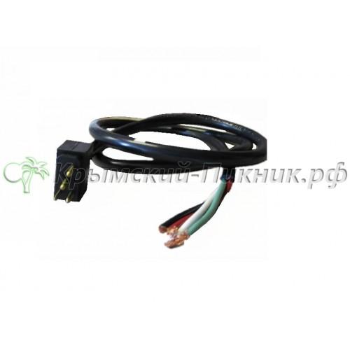 Соединительный кабель  l=1200mm Pumps Male 14/4SJTW105C,2speed,15amp