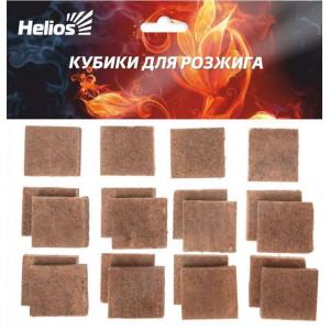 Кубики для розжига в пакете 20 шт Helios Арт. HS-KR-20