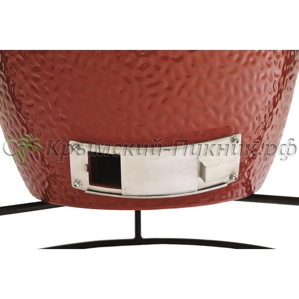 Угольный керамический гриль  Jr. Joe Red на подставке (34см) Kamado Joe Арт.KJ13RH