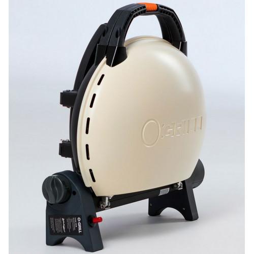 Портативный газовый гриль O-GRILL 500M cream (кремовый)