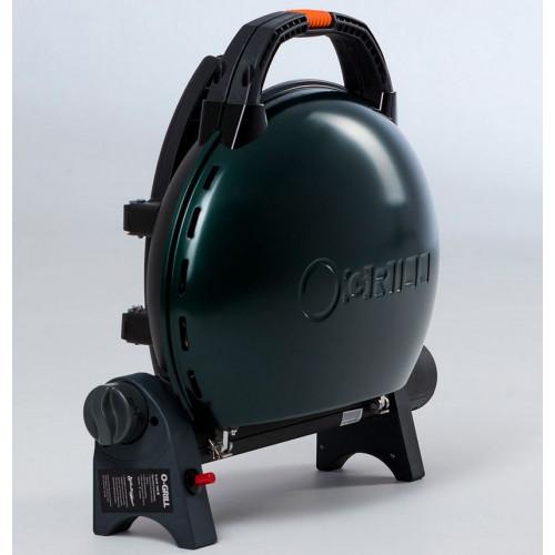 Портативный газовый гриль O-GRILL 500M green (зелёный)