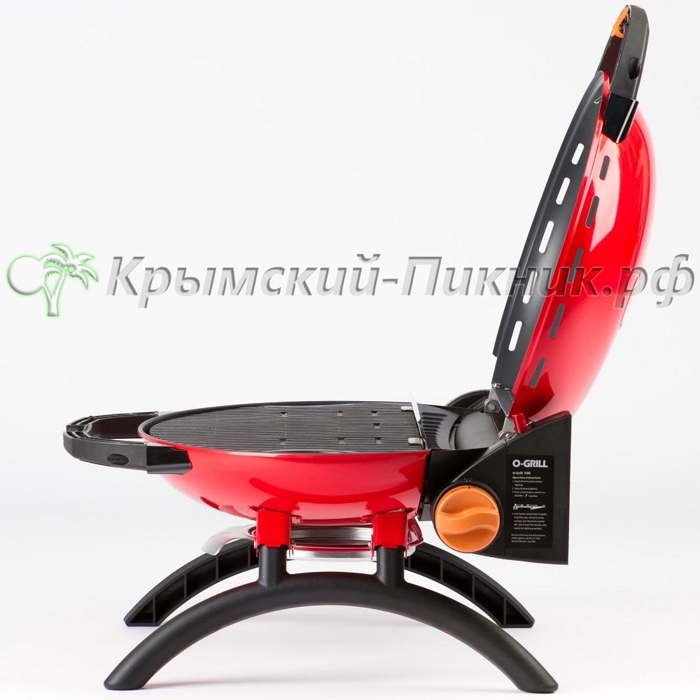 Портативный газовый гриль O-GRILL 500 red (красный)
