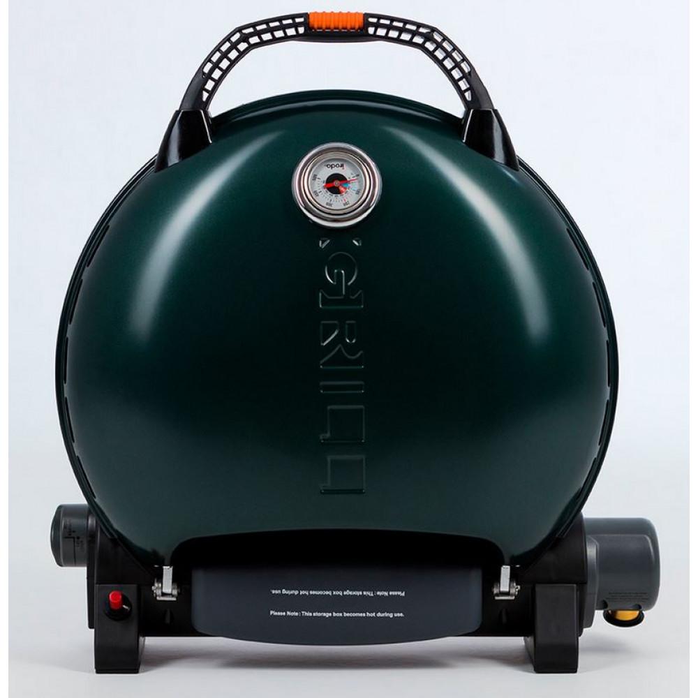 Портативный газовый гриль O-GRILL 700MT green (зелёный)