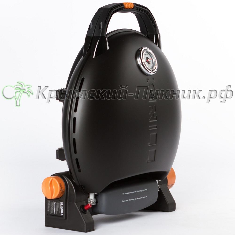 Портативный газовый гриль O-GRILL 700T black (черный)