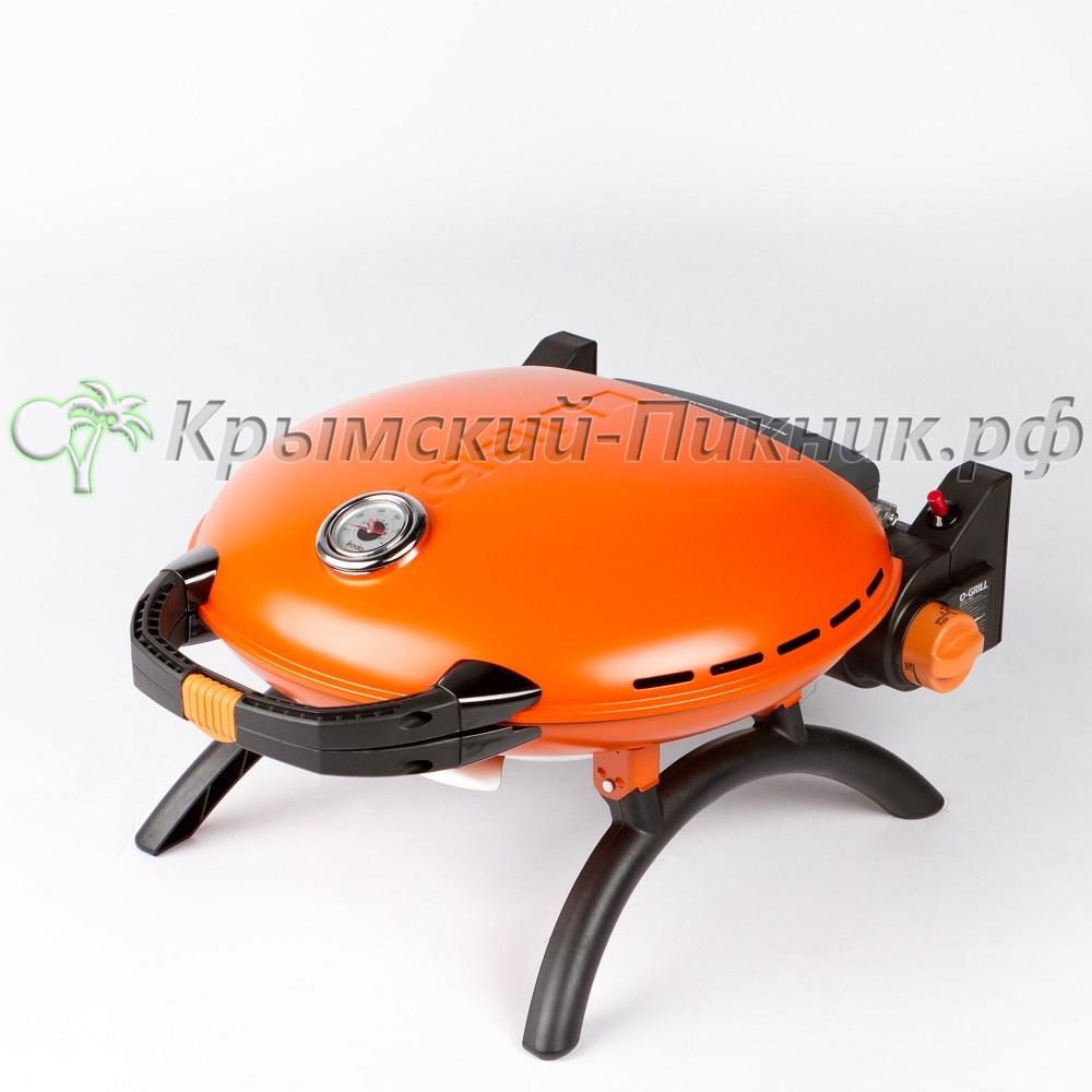 Портативный газовый гриль O-GRILL 700T orange (оранжевый)
