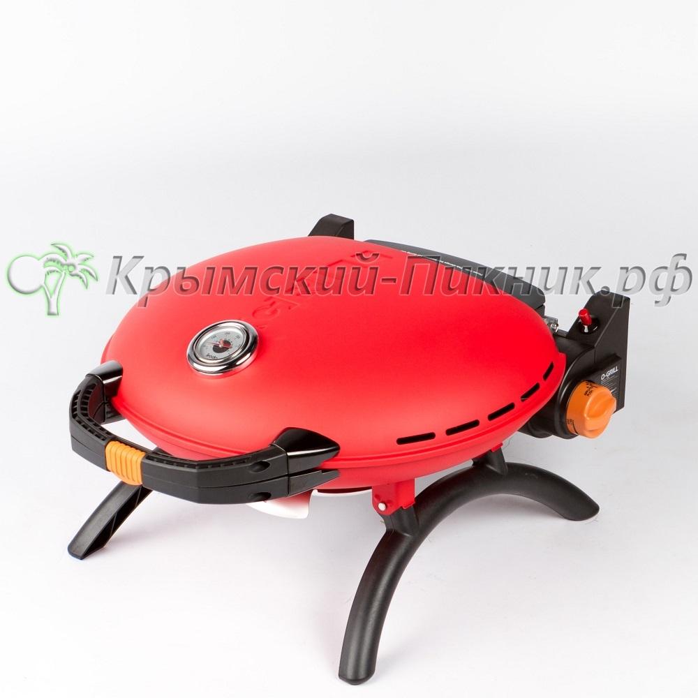 Портативный газовый гриль O-GRILL 700T red (красный)