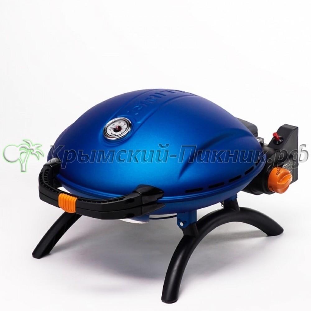 Портативный газовый гриль O-GRILL 800T blue (синий)