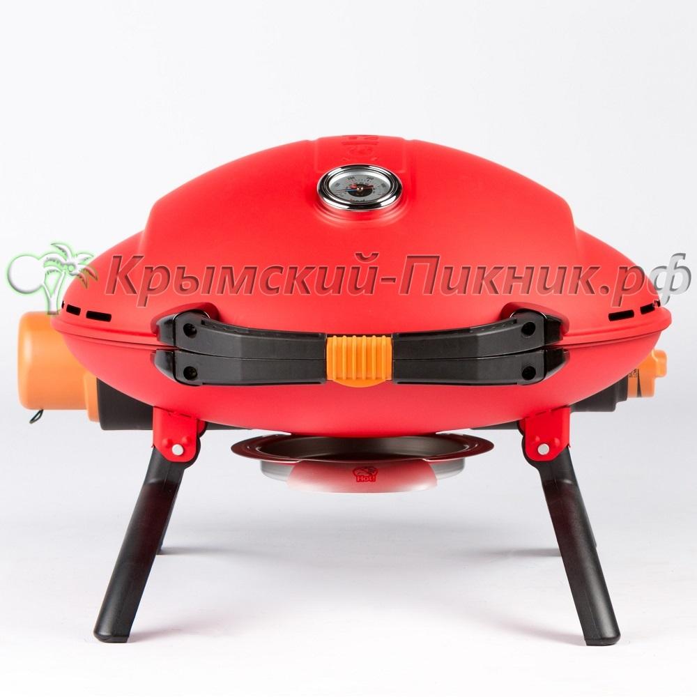 Портативный газовый гриль O-GRILL 800T red (красный)