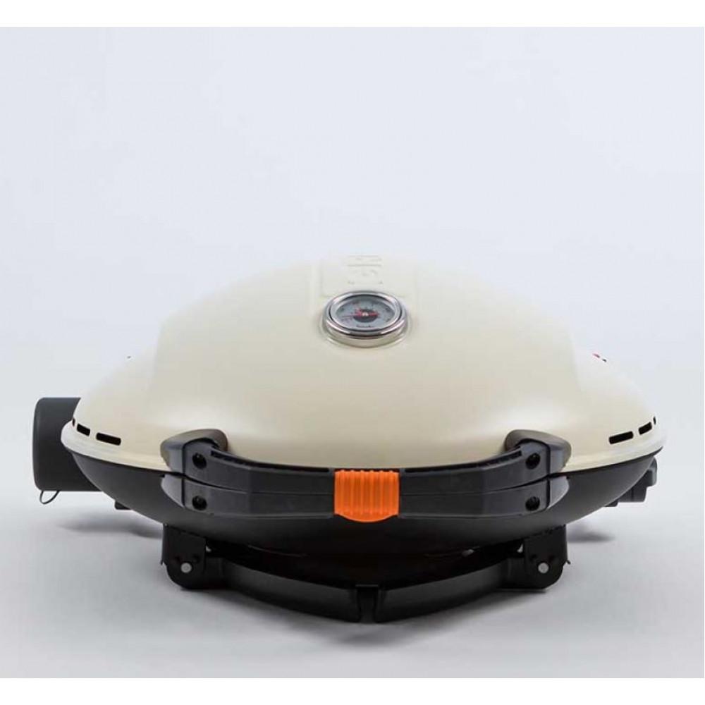 Портативный газовый гриль O-GRILL 900MT cream (кремовый)