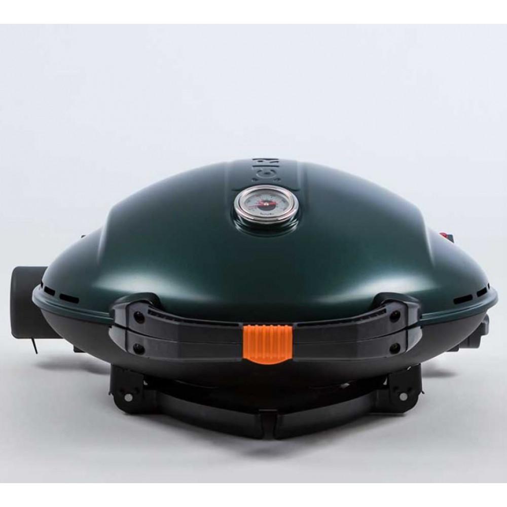 Портативный газовый гриль O-GRILL 900MT green (зелёный)