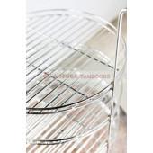 Этажерка (решетка) для тандыров 3-х ярусная большая ПРЕМИУМ D.33 cm Амфора