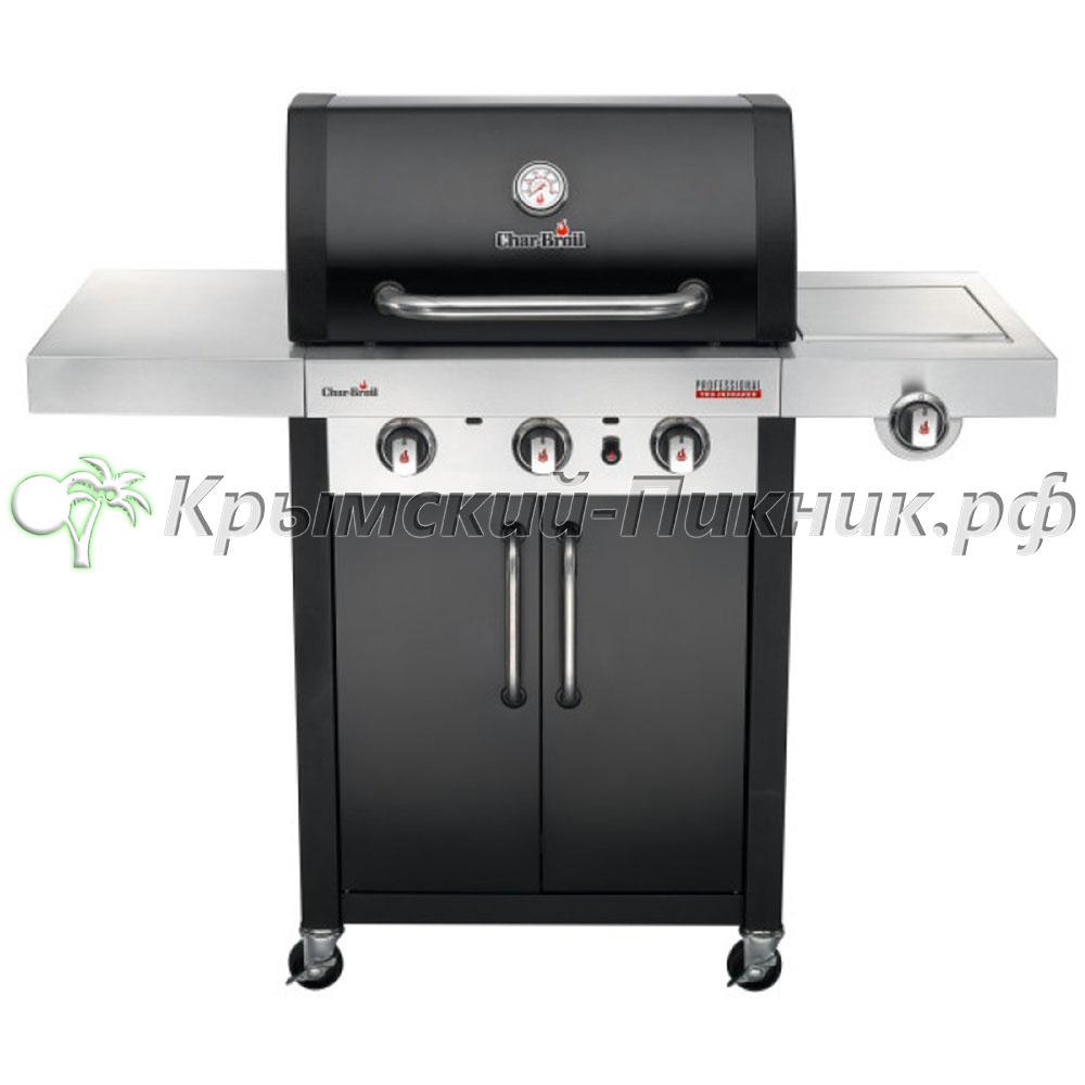 Газовый гриль Char-Broil Professional (3-х горелочный) Black Edition