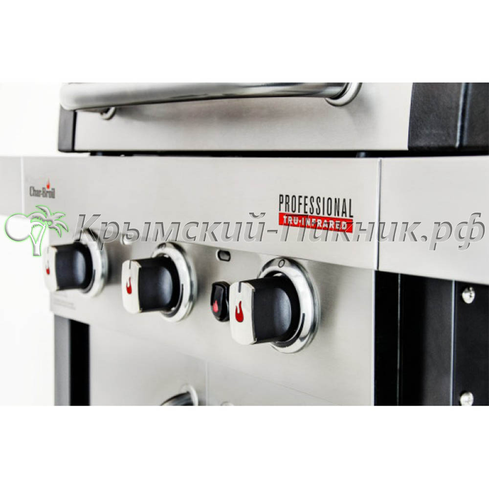 Газовый гриль Char-Broil Professional (3-х горелочный)