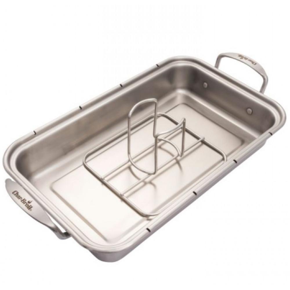 Ростер для курицы с креплением для емкости Grill+  Char-Broill Арт.140018