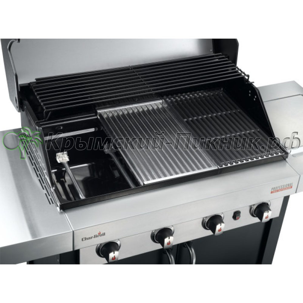 Газовый гриль Char-Broil Professional  (4-х горелочный) Black Edition