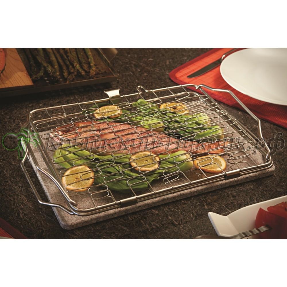 Складная сетка для обжарки рыбы и овощей 33х25см Napoleon Арт.57012