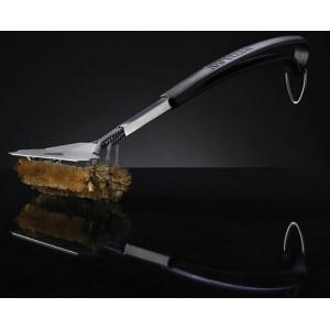 Щетка трехрядная для чистки решеток гриля с латунным ворсом Napoleon Арт. 62058