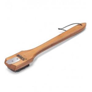 Щетка для гриля с бамбуковой ручкой, 46 см Weber Арт. 6464
