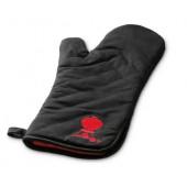 Перчатка Руковица с красным логотипом жаростойкая Weber для гриля Арт. 6472