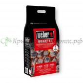 Угольные брикеты Weber 4 кг или 8 кг Арт. 17590 17591