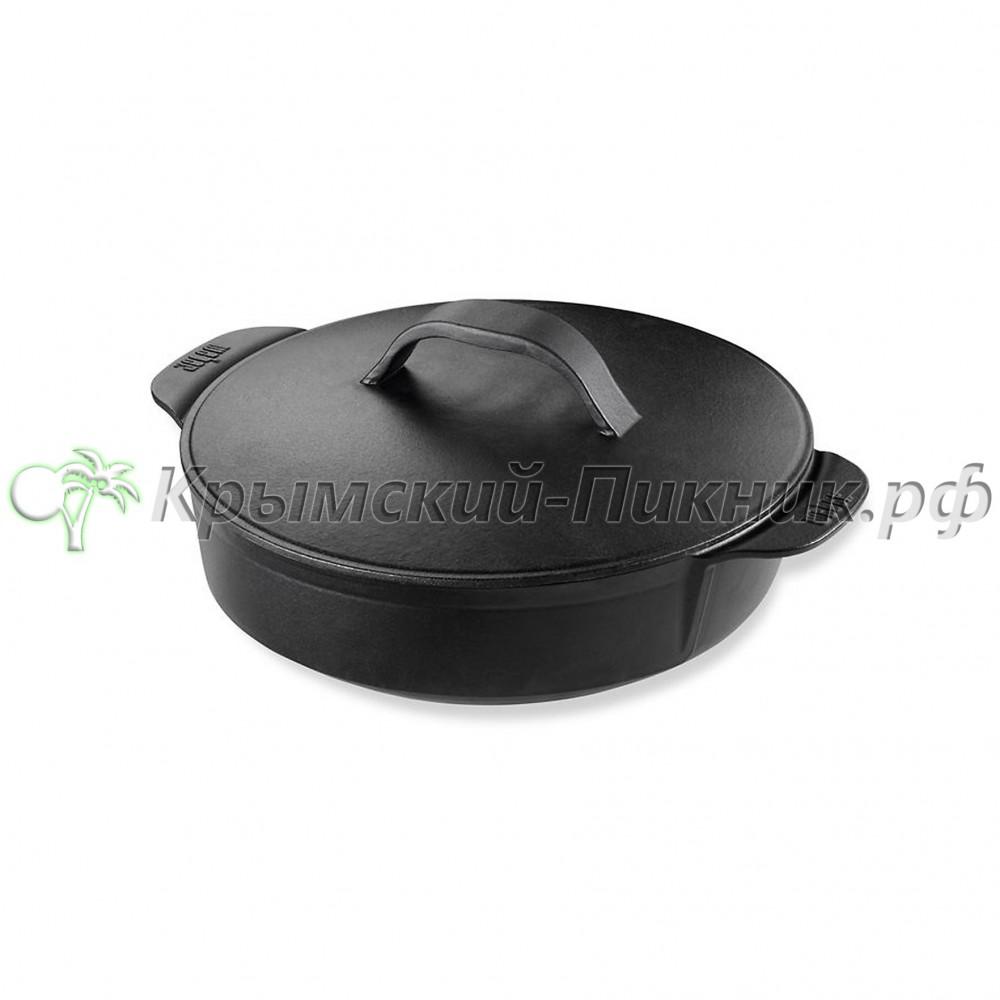 Чугунная голландская печь (жаровня) GBS Gourmet BBQ System Weber Арт. 8842