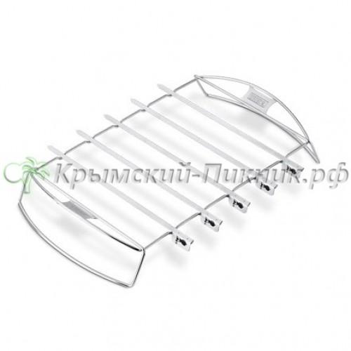 Подставка и шампуры набор для шашлыка Weber Арт. 6606