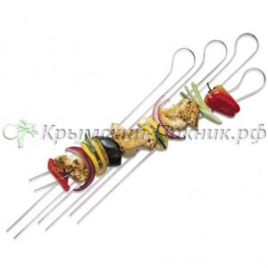 Набор шампуров двойных шпажек Weber 8 штук Арт. 8402