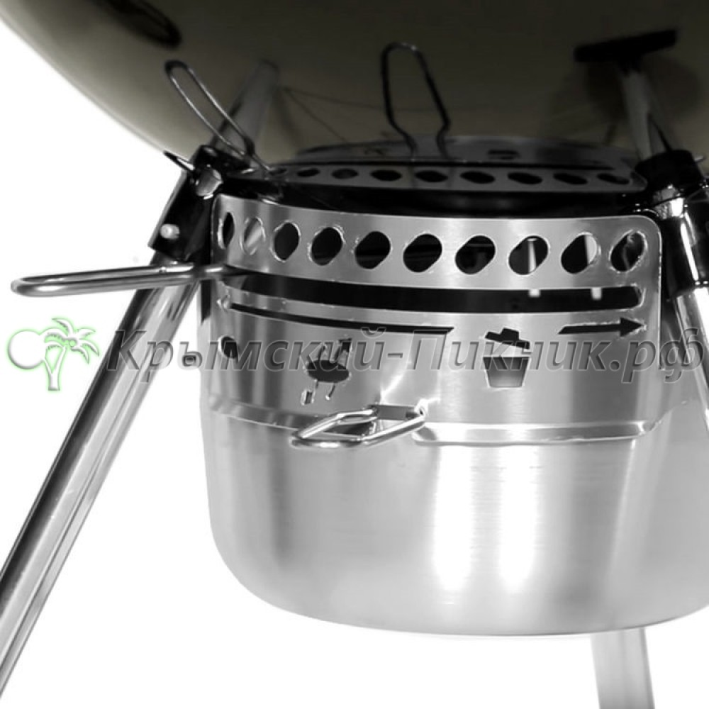 Угольный гриль Master-Touch GBS 57 см E-5750, Дымчатый Weber Арт.14710004